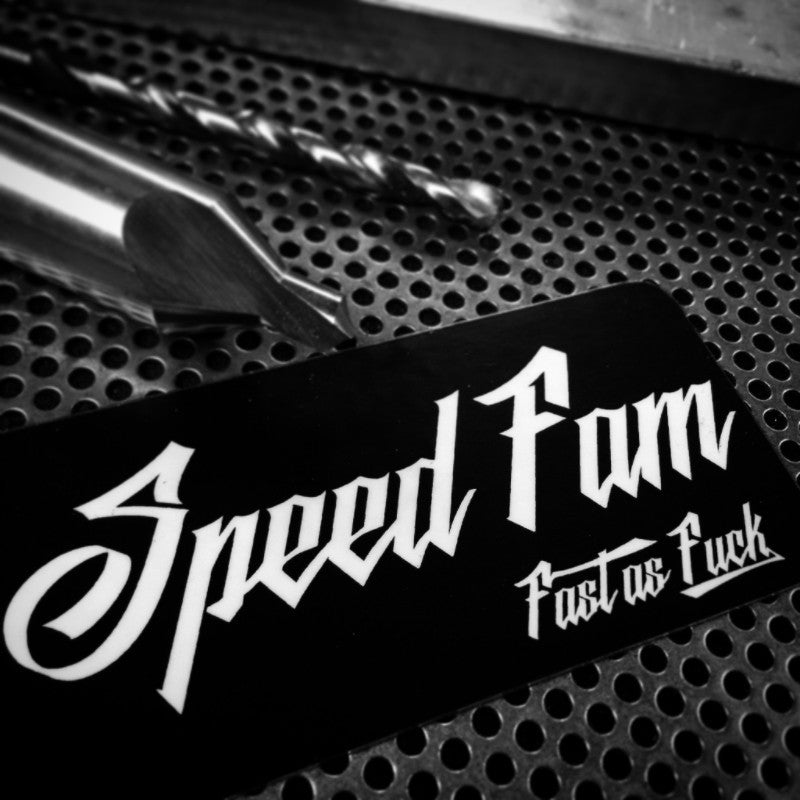 "Speed Fam ""The Brand"" decal"