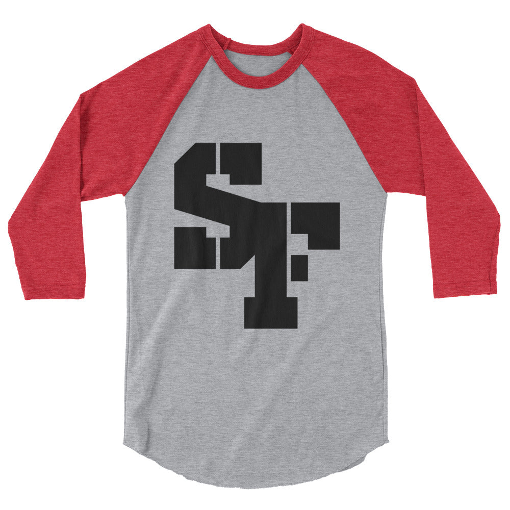 SF 3/4 sleeve raglan shirt