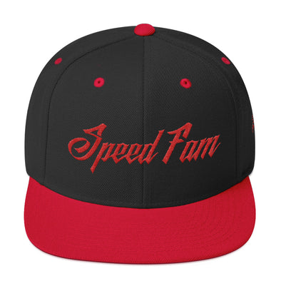 What up Blood! Speed Fam Snapback Hat