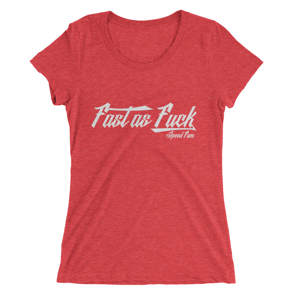 FAST AS FUCK Ladies' short sleeve t-shirt