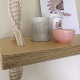 Macrame Timber Shelves