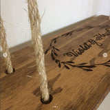 Fibreshack personalised timber swing