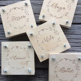 Flower Press. Personalised