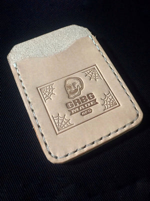 Simple man card holder