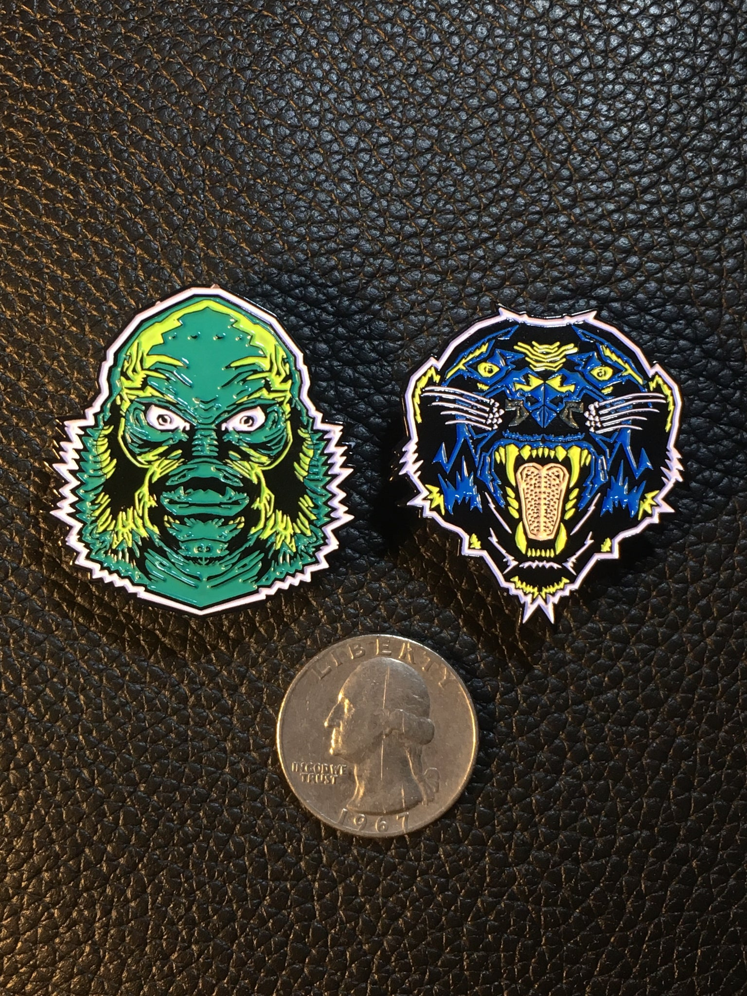 Garbage Made Enamel Pins