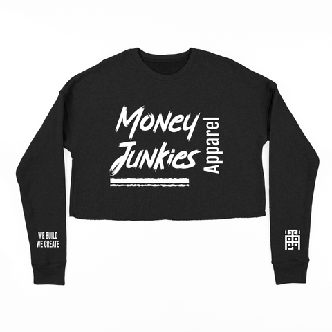 MJA Crop Top  Crewneck