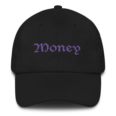 Old English Money Script Dad Hat