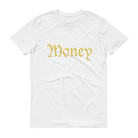 Old English Money Script Tee - The Money Junkies Apparel Shop