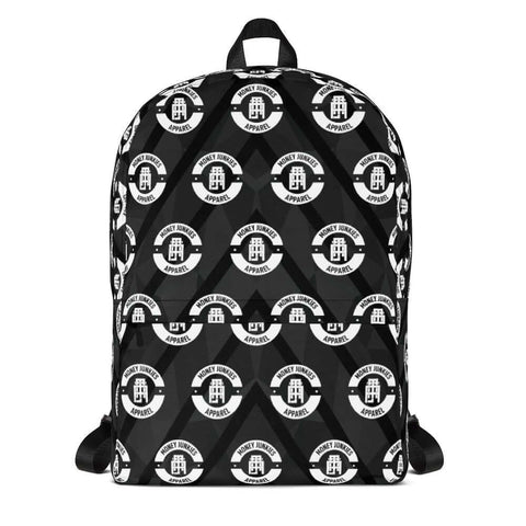 Money Junkies Apparel Backpack (Emblem) - The Money Junkies Apparel Shop