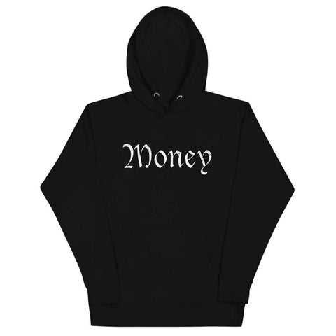 Old English Money Script Hoodie - The Money Junkies Apparel Shop