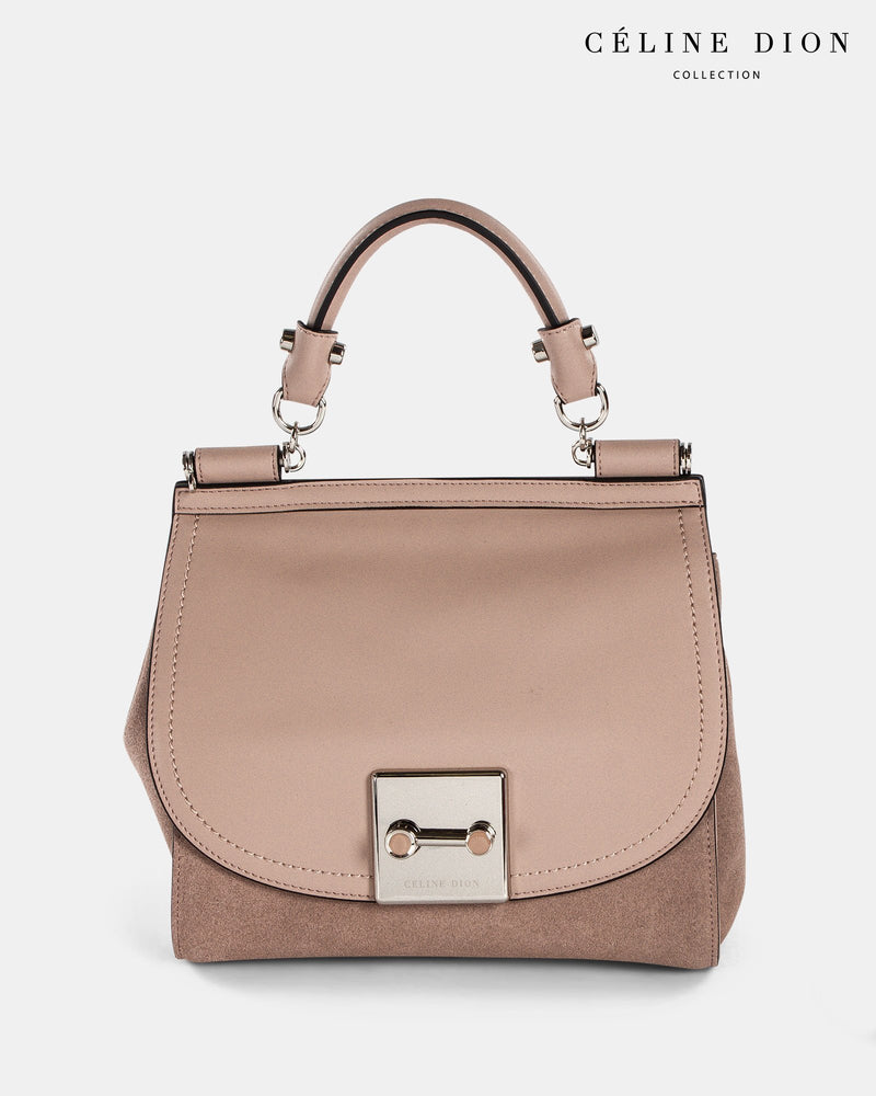 Céline Dion Baroque Handle Bag HDL5856 Blush Color2First