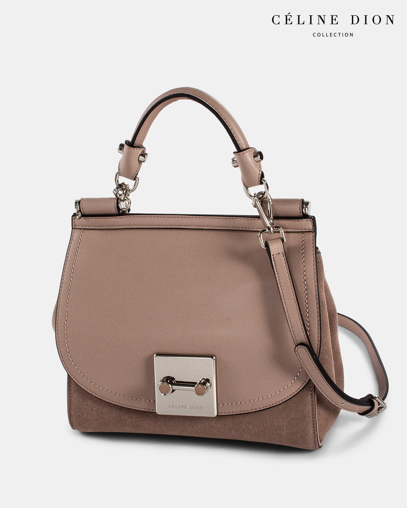 Céline Dion Baroque Handle Bag HDL5856 Blush Color3