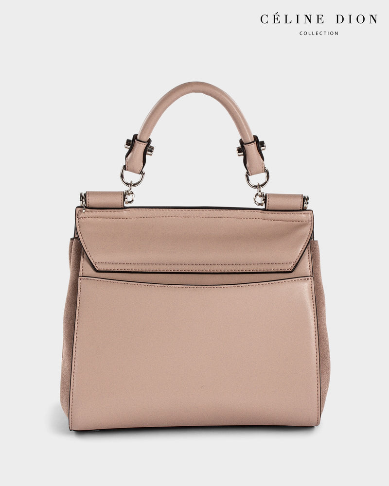 Céline Dion Baroque Handle Bag HDL5856 Blush Color2