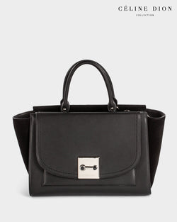 Céline Dion Baroque Satchel SCH5857 Black Color1First