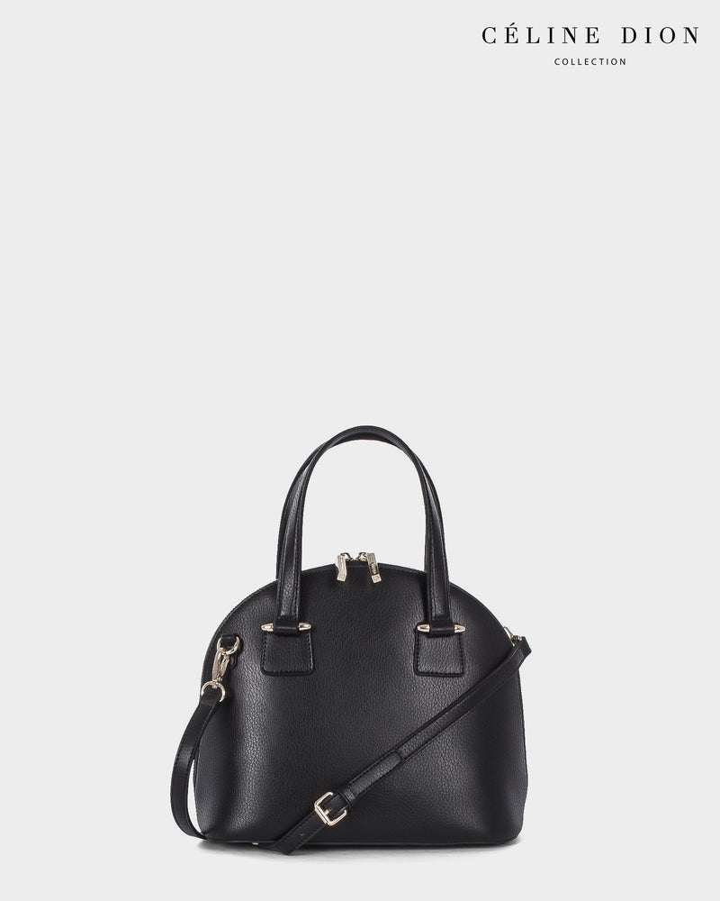 Céline Dion Triad Satchel SCH5546 Black Color2