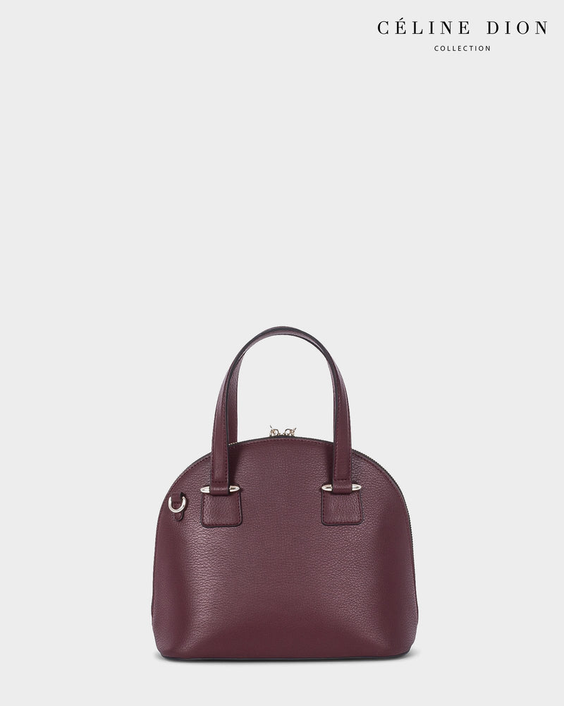 Céline Dion Triad Satchel SCH5546 Winterwine Color1