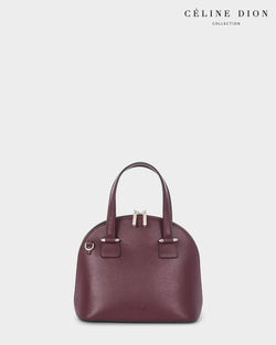 Céline Dion Triad Satchel SCH5546 Winterwine Color1First