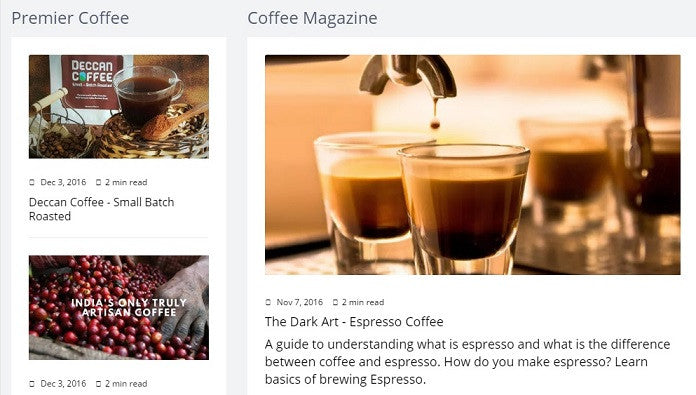 Deccan Coffee : Bringing Fresh Coffee To You