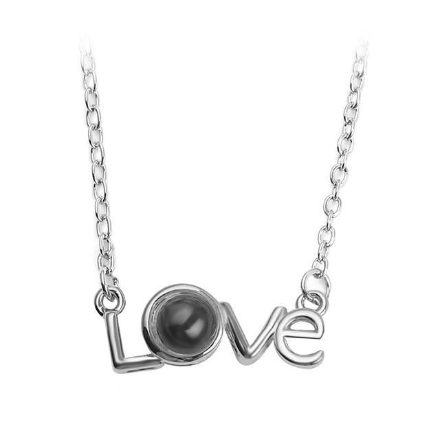 100 Languages Necklace - Love Edition - Rose Gold