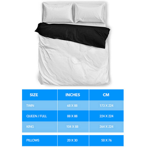 bedding set sizing guide shopeholic