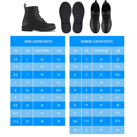 womens boots sizing 1