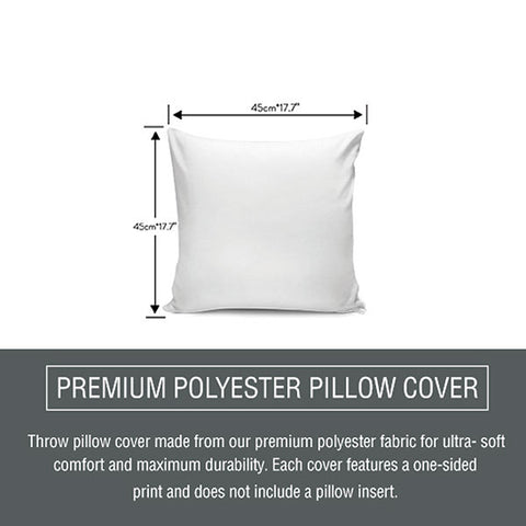 pillow cover size