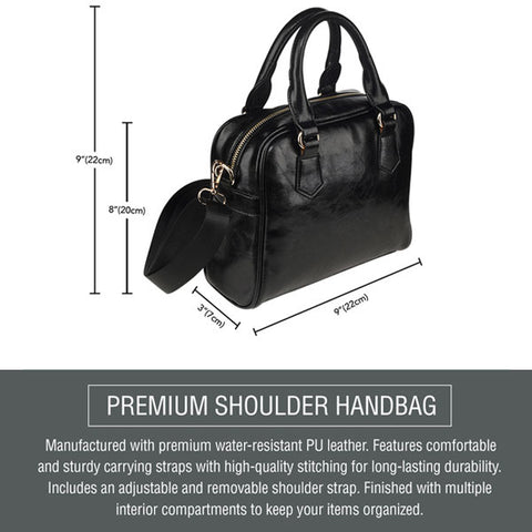 shoulder handbag description