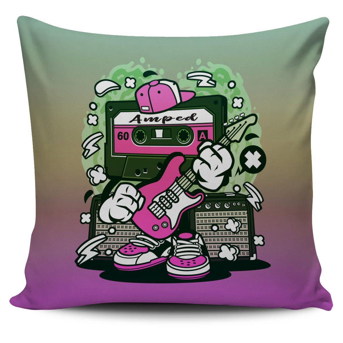 Shopeholic:Amped Guitar Pillow Cover