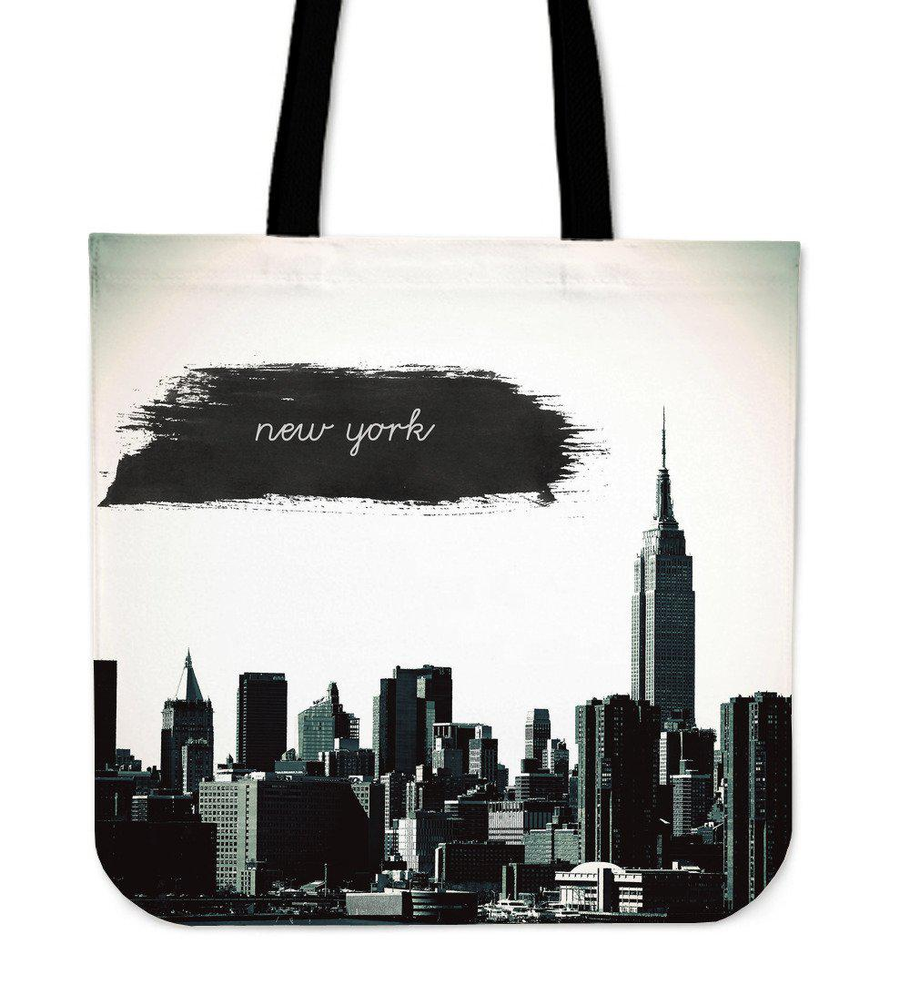 Shopeholic:New York City Cloth Tote Bag