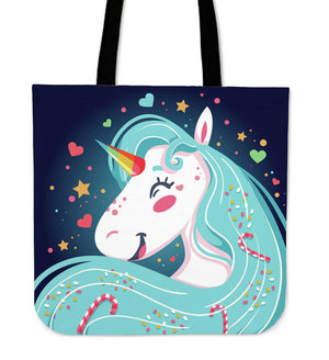 Shopeholic:Unicorn Lover Tote Bag