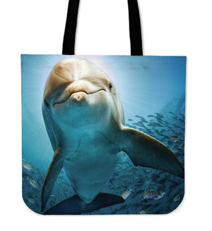 Shopeholic:Dolphin Tote Bag
