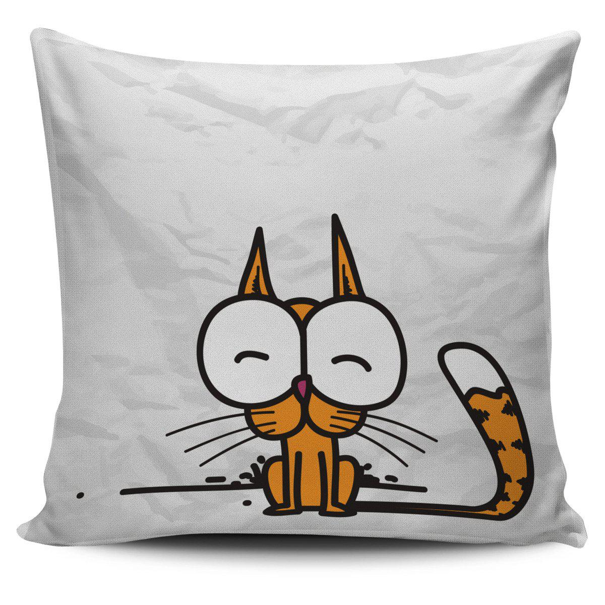 Shopeholic:Little Cute Cat Pillow Cover