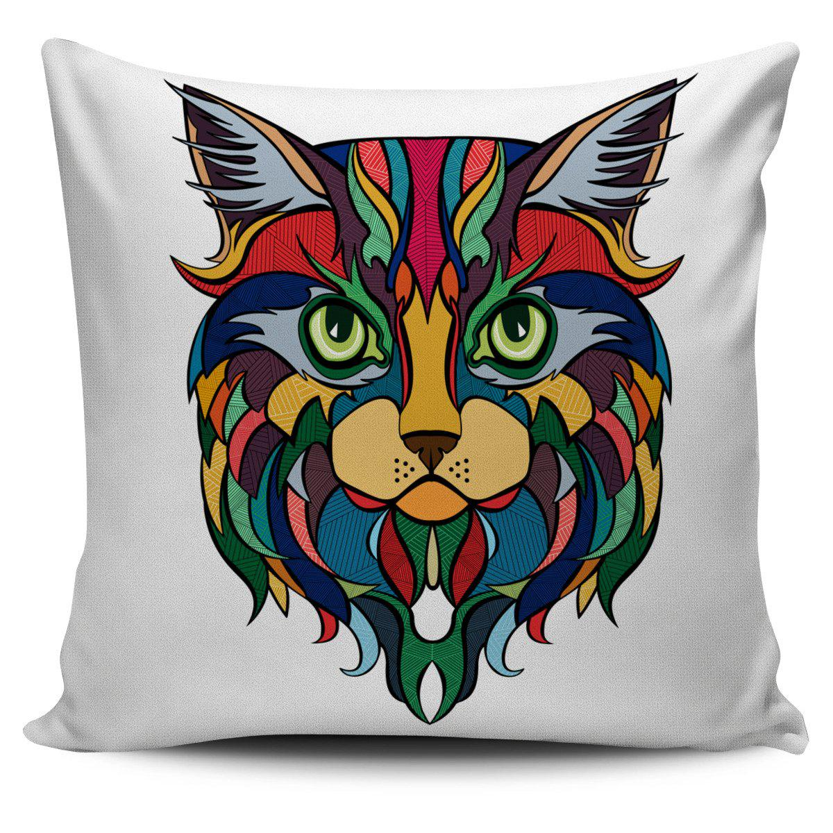 Shopeholic:Cat 02 Pillow Cover