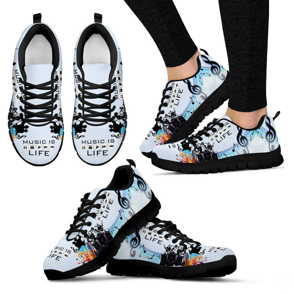 Shopeholic:Musician Women's Sneakers