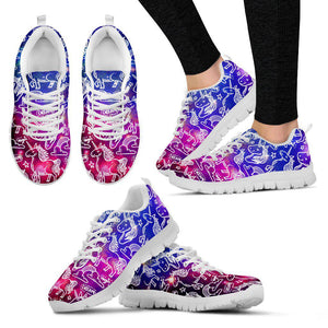 Shopeholic:Unicorn Magic Women's Sneakers