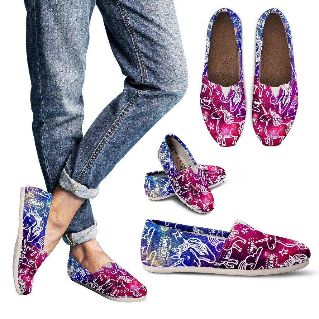 Shopeholic:Unicorn Doodles Women's Casual Shoes