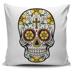 Shopeholic:Cross Skull Pillow Cover