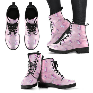 Shopeholic:Unicorn Dream Women's Leather Boots