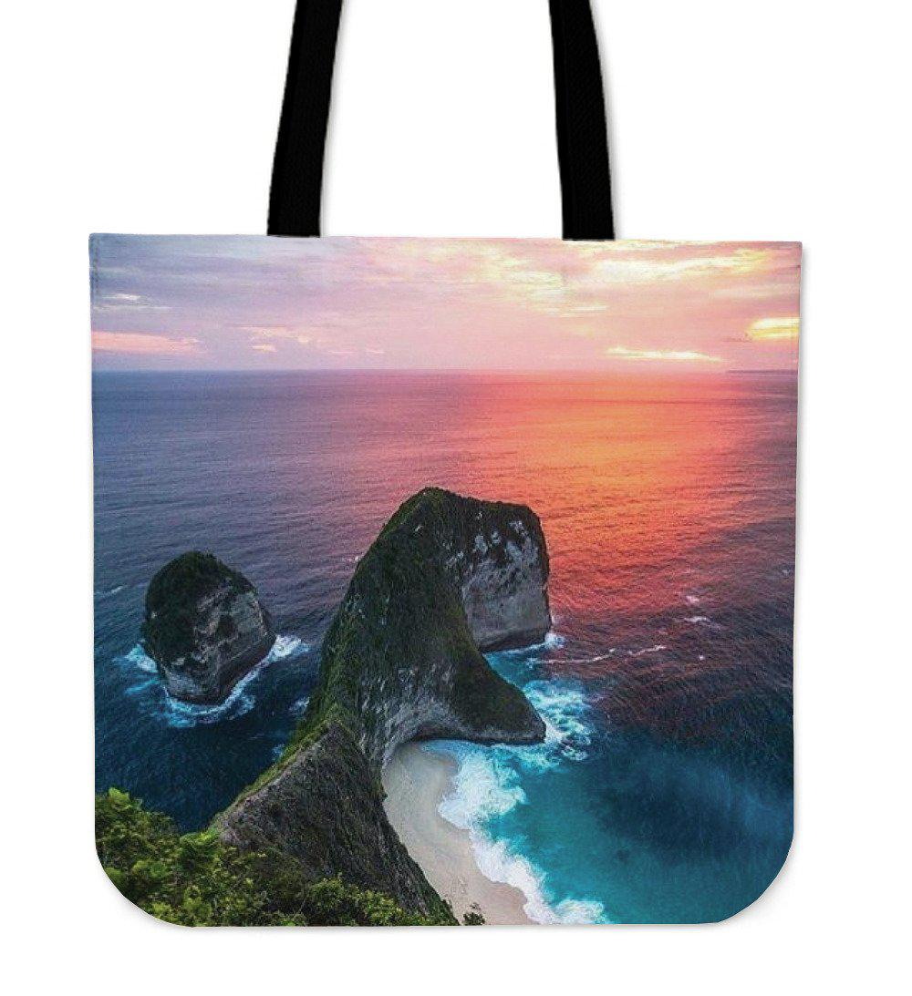 Shopeholic:Sunset Beach Tote Bag