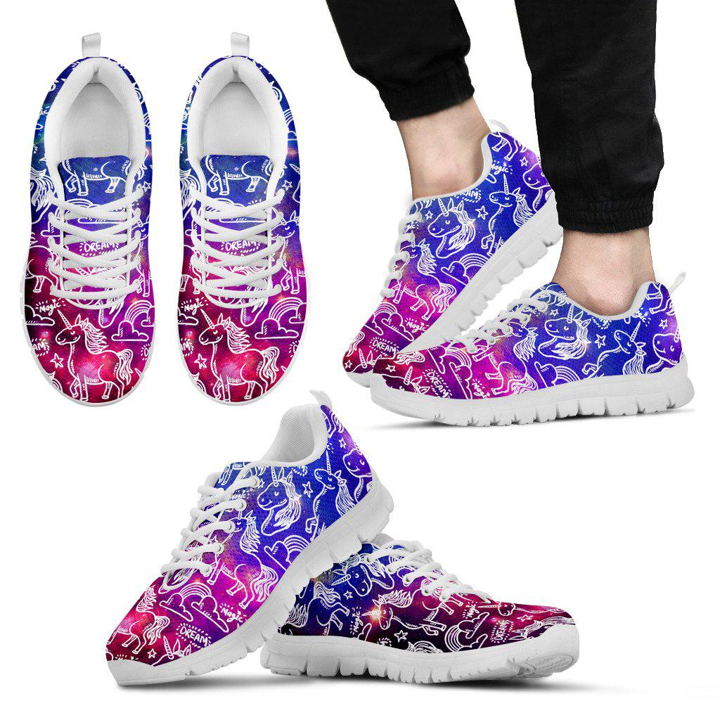 Shopeholic:Unicorn Magic Men's Sneakers