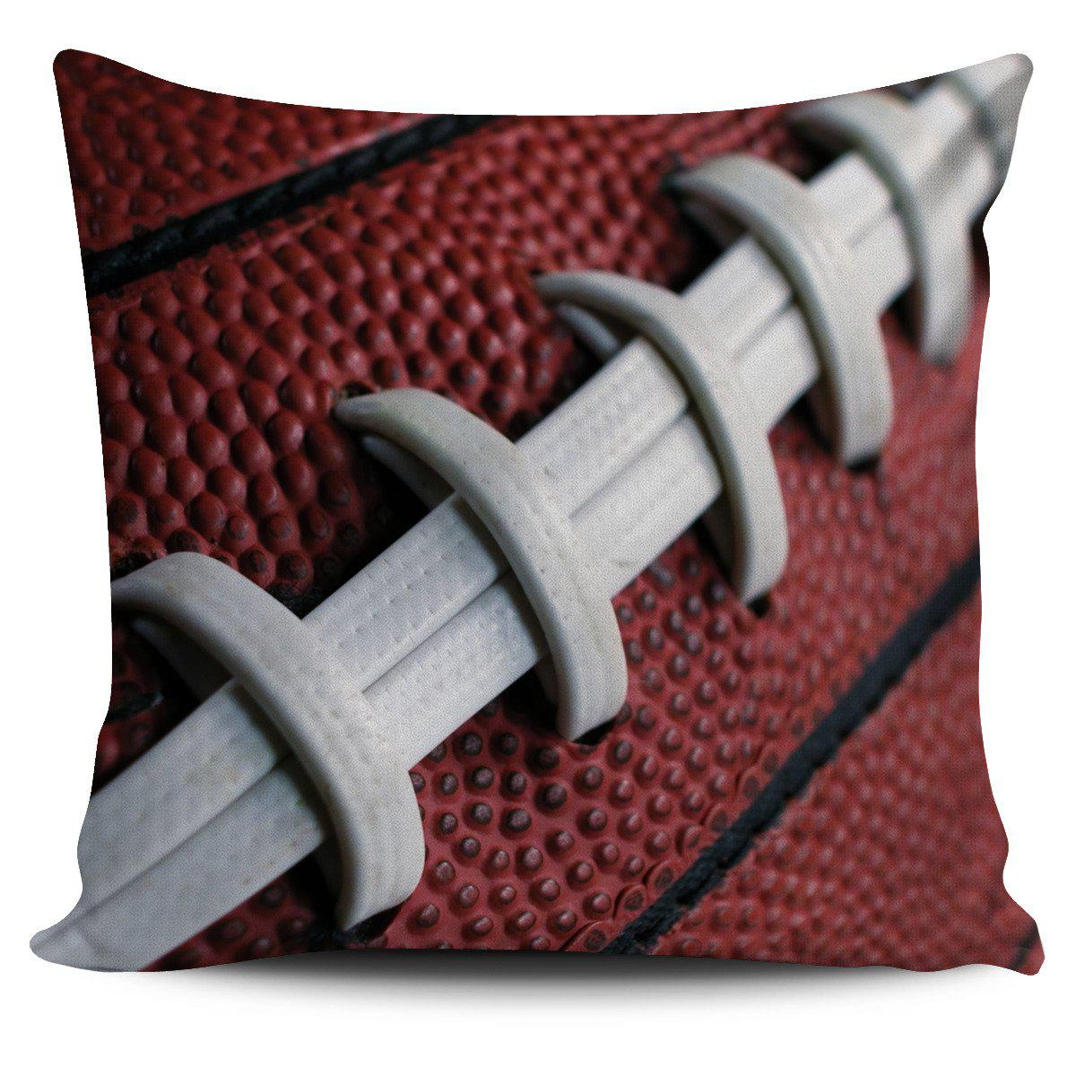 Shopeholic:Football Pillow Cover
