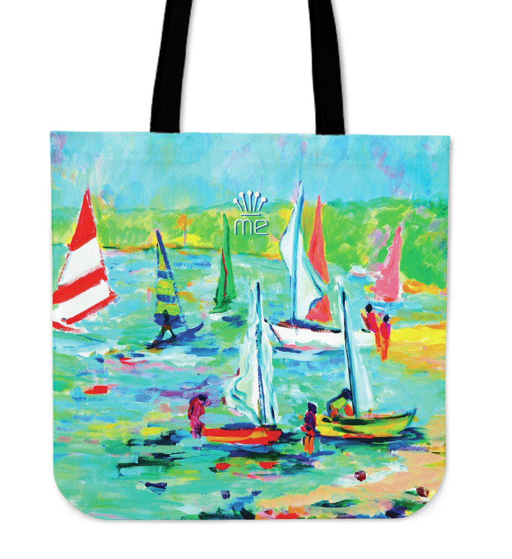 Shopeholic:Boating 07 Cloth Tote Bag