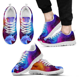 Shopeholic:Believe Unicorns Exist Men's Sneakers