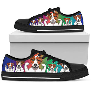 Shopeholic:Jack Russell Women's Low Top Shoe