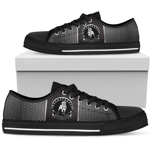 Shopeholic:Rottweiler Women's Low Top Shoe