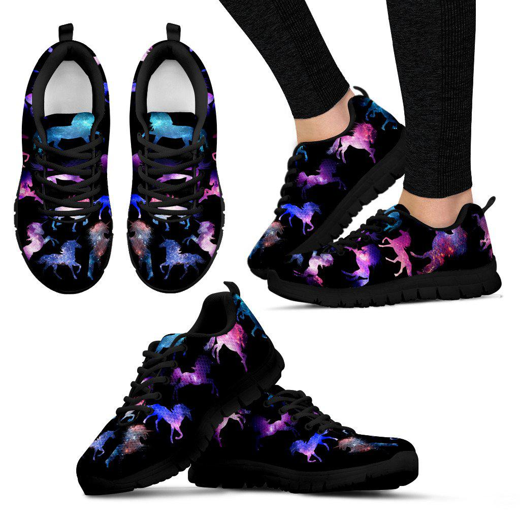 Shopeholic:Unicorn Energy Women's Sneakers