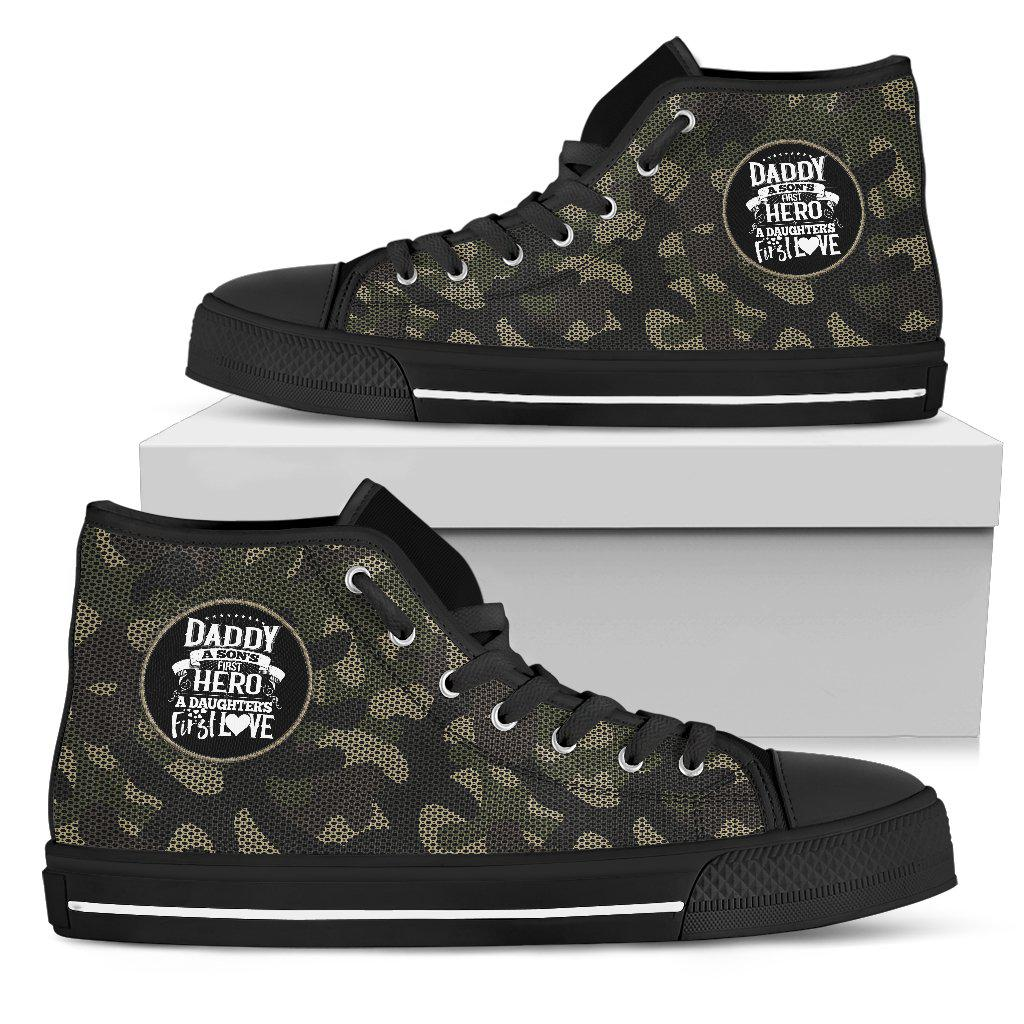 Shopeholic:Daddy..First Hero - Camouflage - Men's High Top Shoes
