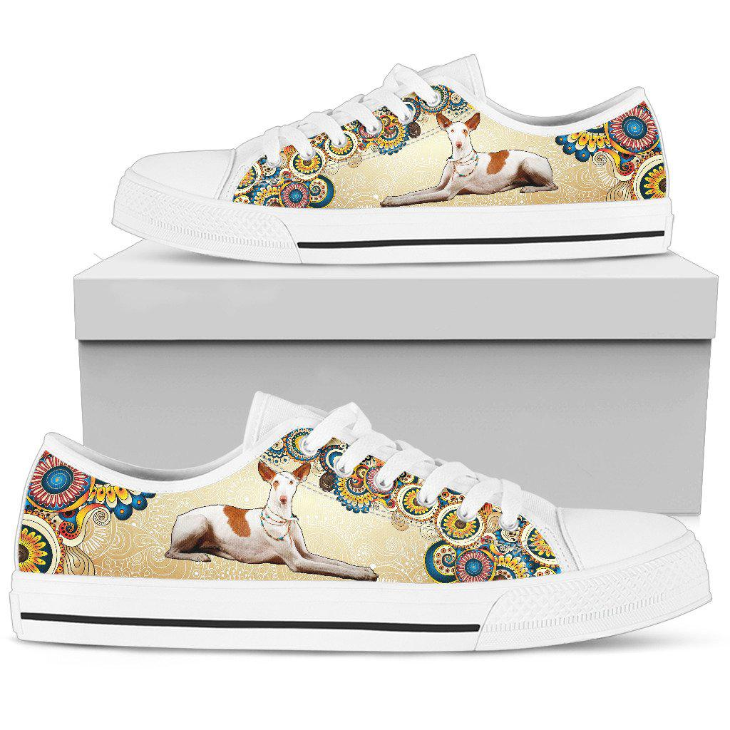 Shopeholic:Ibizan Hound Women's Low Top Shoe