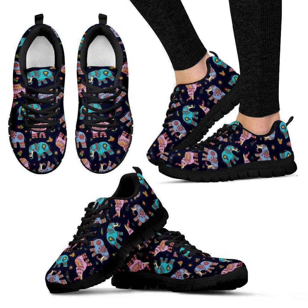 Shopeholic:Elephant Women's Sneakers