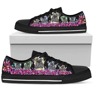 Shopeholic:Bullmastiff Women's Low Top Shoe